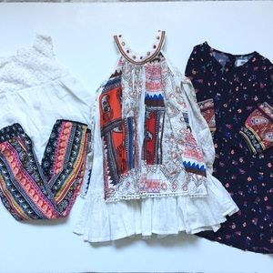 Girls 4T/5T Boho Dress/Outfit Lot